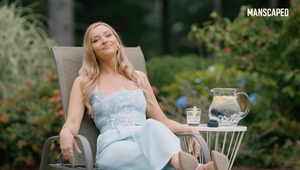Gronk Struggles to Find His Balls in Innuendo-Filled Campaign Starring Camille Kostek