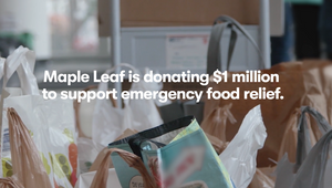 Sid Lee and Maple Leaf Foods Encourages Canadians to Fight Hunger Amidst Pandemic