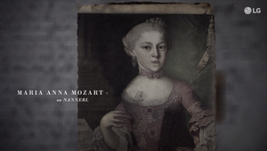 LG and Linguistics Transform Mozart's Sister Maria Anna's Letters into Never Heard Before Piece of Music