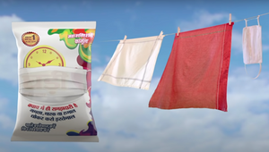 Wunderman Thompson Masks Up Ghadi Detergent in Fight Against Covid-19