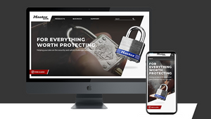 Laughlin Constable Designs and Launches Master Lock's New Website Experience