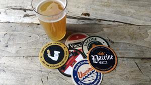 BeerVax Beer Mats Encourage Pub Goers to Get Jabbed