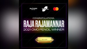 McCann Worldgroup Client Recognised with Prestigious One Show CMO Pencil