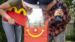 McDonald's Shares 1,400 Happy Meal-Inspired Bird Boxes for Finnish Forests