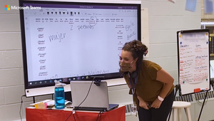 Microsoft Celebrates Teachers Making a Difference during Covid-19 with Latest Teams Ad