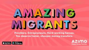 2050 London and Money Transfer Service Azimo Celebrate the UK's Amazing Migrants