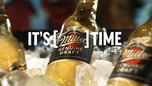 Chuck Studios London Crafts Ultimate Freshness for Miller Genuine Draft Global Campaign