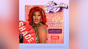 'Ms. Information' Spills the Tea on the Facts About the Covid Vax for AIDS Service GMHC