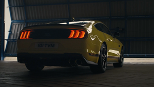 Ford Mustang Mach 1 Packs a Punch in Adrenaline Fuelled Spot