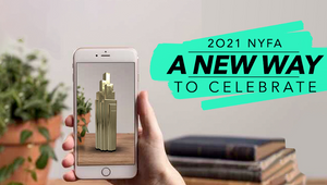 New York Festivals Advertising Awards Honours 2021 Award Winners with Augmented Reality Trophy