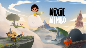 Nixie and Nimbo: Yves Geleyn Crafts Heartfelt Mini Series on Childhood Anxiety