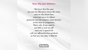 No Sex in the Olympic Village? Athletes Receive Self-satisfaction Kits on Demand