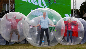 Paddy Power and Peter Crouch Deliver World's Most Covid-Compliant Football Party
