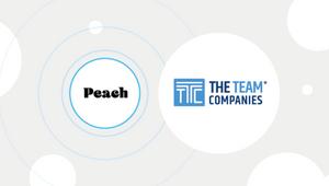 Peach Announces Global Alliance with The TEAM Companies