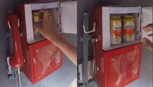 Amstel Hacks Carnival Street Parades Using Hidden Fridges