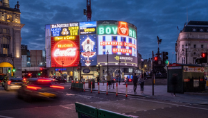 Ancestry Turns Back the Clock on Piccadilly Lights in Nostalgic Showcase of Illuminated Signs