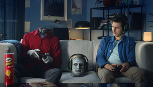 Pringles' Zombie Frank Steps Out the Game for Reality Breaking Twitch Campaign