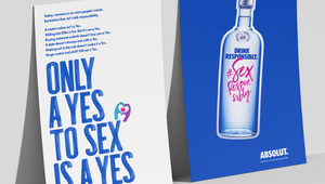 Absolut Shines a Spotlight on Consent with #SexResponsibly Campaign