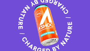 Energy Drink A SHOC Shakes Up the Category with Charged by Nature Campaign, Brand Identity and Design