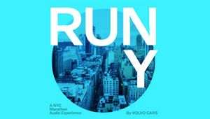 Volvo Cars Keeps Solo Marathon Runners Company with Innovative NYC Audio Experience