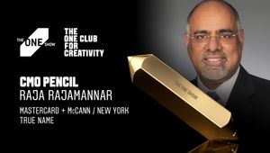 Mastercard's Raja Rajamannar Wins The One Show 2021 CMO Pencil For 'True Name' by McCann NY