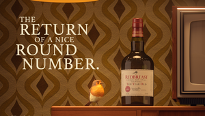 Redbreast Irish Whiskey Goes Fully Retro to Celebrate Reimagining of Redbreast 10 Year Old