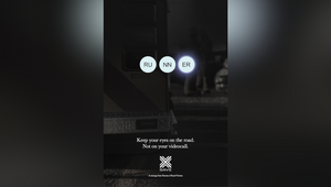Happiness's Stark Print Campaign Reminds Drivers to Not Video Call and Drive