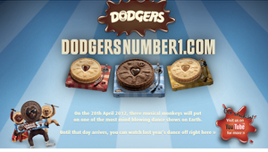"""Finish Release For Jammie Dodgers """"Vote Now"""""""