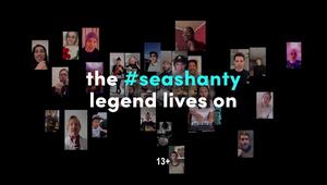 TikTok's #SeaShanty Spot Celebrates Online Creators of 2021