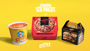 Aguila Beers Turns Six Packs into Fast Food to Get Customers Drinking Smarter