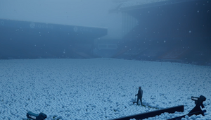 Snowballs Fall Over Sky's Festive Football Season Celebration