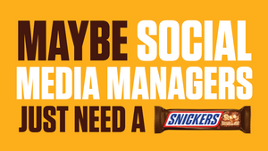 SNICKERS' Hungry Social Media Manager Botches its Twitter Fleets Campaign