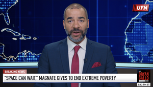 Concern Worldwide's #UnfortunatelyFakeNews Campaign Calls Out Income Inequality
