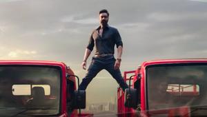 FCB Interface Brings Back Ajay Devgn's Iconic Split Stunt for Mahindra FURIO 7 Truck Range Launch