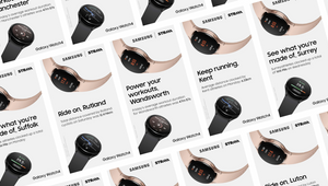 RAPP and Samsung UK's Unique Data-driven Strava Campaign Uses Real People's Fitness Achievements