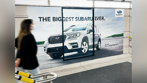 Subaru Canada's Biggest Ever Ad is So Big it Can't Fit into Ad Spaces