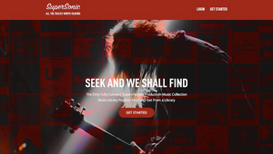 Seek + We Shall Find: Sonic Union Amps Up Free Music Search Resource SuperSonic