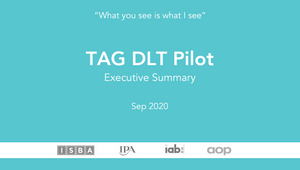 Tag Announces Successful Completion of Distributed-Ledger Technology Pilot