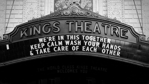 Live Nation Captures Messages of Hope at Deserted Music Venues