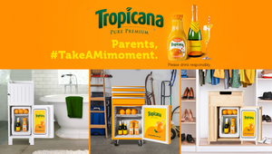 Tropicana Stirs up Some 'Mimoments' to Help Parents Find Brightness with Stealth Mimosa Break