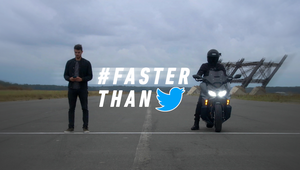 Honda Motorcycle Goes Faster Than Twitter for Forza 750 Launch