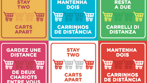 Two Carts Apart Campaign Keeps Customers Safe Whilst Shopping