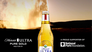 Michelob ULTRA Honours Earth Day with Yellowstone's Old Faithful Livestream