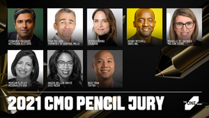 Jury of Leading Marketers to Select The One Show CMO Pencil 2021 Winner
