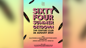 SixtyFour Music Invites You to Its Summer Getdown to Celebrate the End of Lockdown