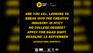 D&AD Shift NY 2021 Opens for Applications