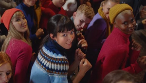 ZOO Works With ODD London for M&S #GoJumpers Christmas Ad