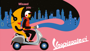 Vespa Gets Back on the Road in New 'Vespizzatevi' Campaign