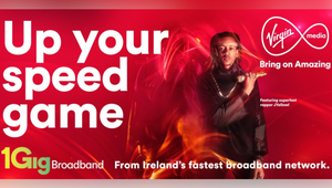 Virgin Media Partners with Ireland's Fastest Rapper to Flex its Speed Game