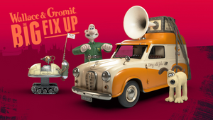 Wallace & Gromit Delve into AR for The Big Fix Up App